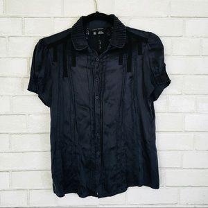 Zara Woman %100 silk blouse